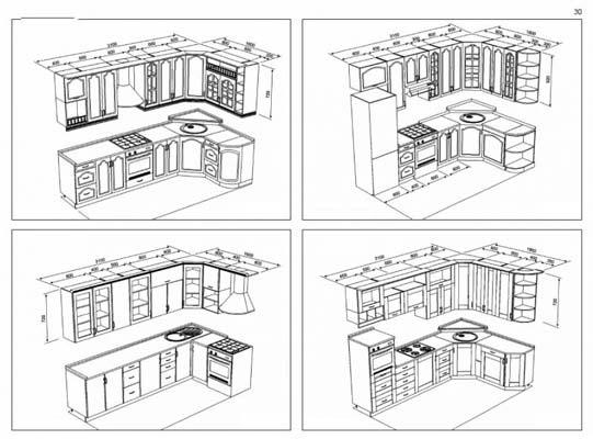 Мебель своими руками чертежи кухня