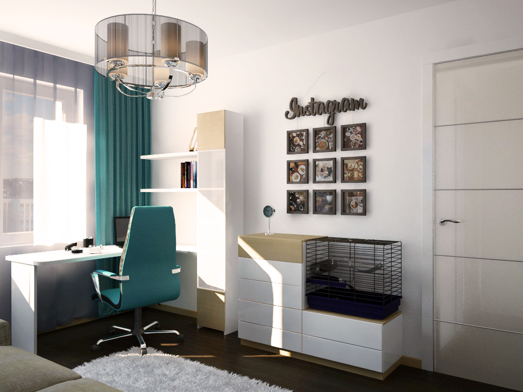 Дизайн интерьера квартиры в Витебске