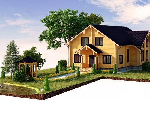 визуализация для сайта строительной компании