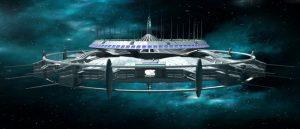 автономная космическая станция 3d модель