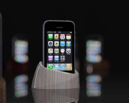 визуализация подставки для телефона